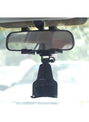 Techmaster Universal Araç İçi Dikiz Aynası Telefon Navigasyon Tutucu Renkli